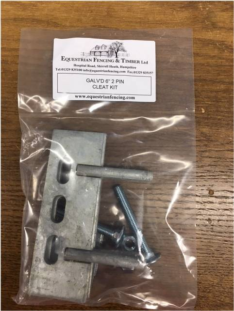 Cleat Kit for concrete gravel boards
