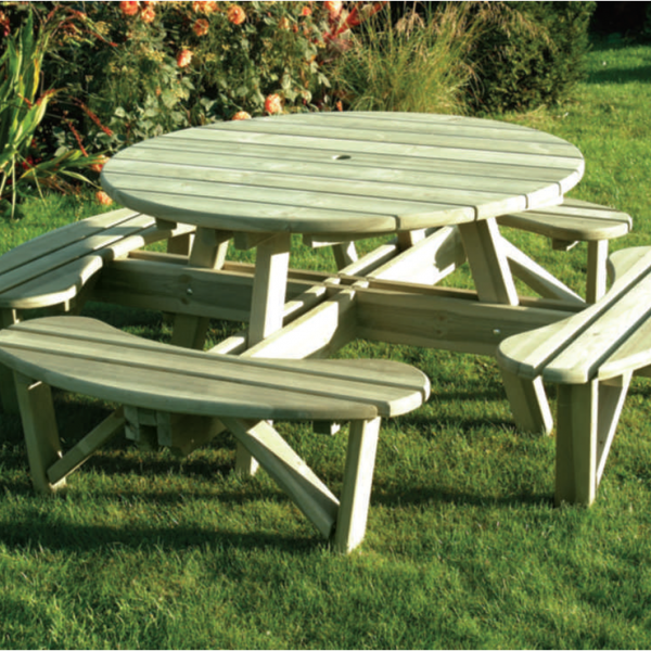 Elite Round Table & Bench