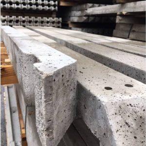 Concrete Recessed Posts