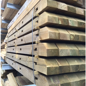 UC4 Morticed Wooden Posts