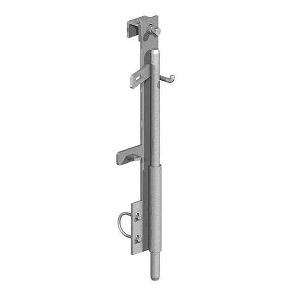 Drop Bolt for Metal Field Gates (Clamp on Type)