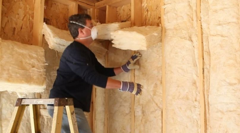 insulation in stud wall