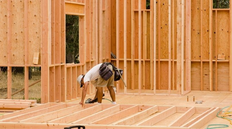 structural timber used for stud walls