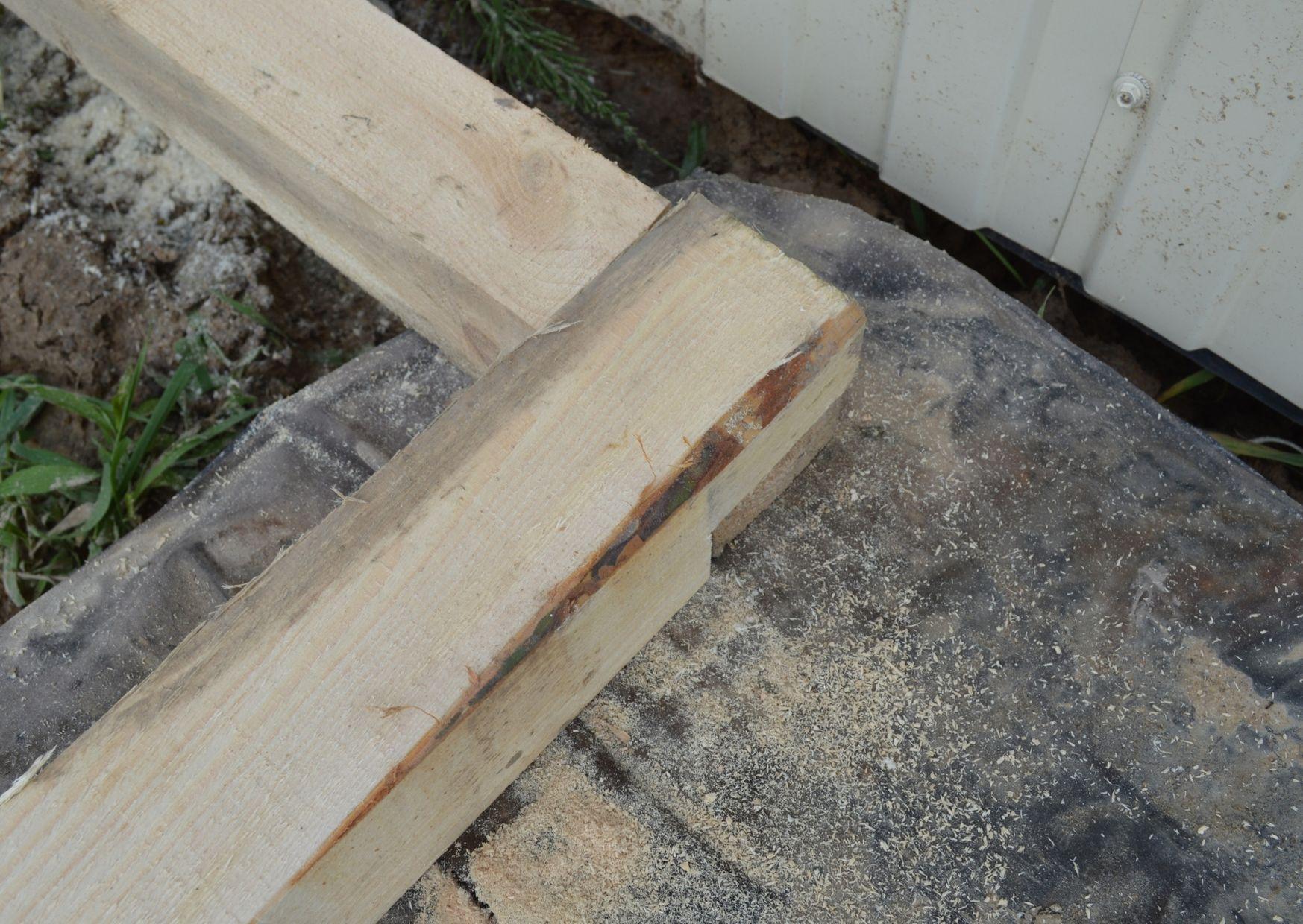 butt joint timber