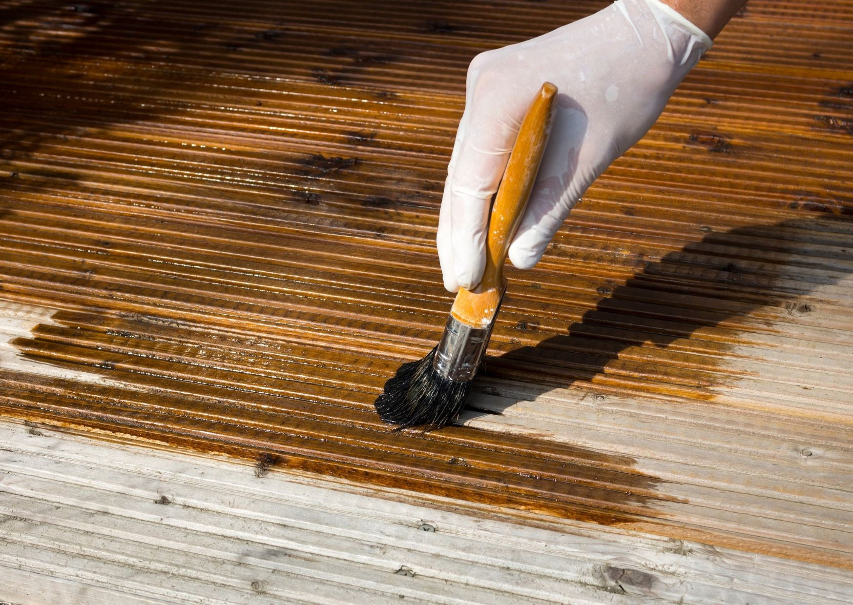 treating your decking