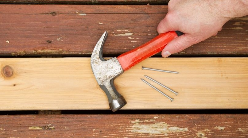 decking patch repairs