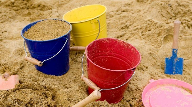 garden sandpit